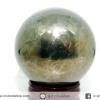 ํ▽ไพไรต์ (Pyrite) ทรงบอล หินทรงกลม เกรด A (5 cm, 337g.)