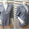 เสื้อสูทลำรอง สีฟ้า แบรนด์ Itokin blouse อก 38 นิ้ว