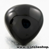 พลอยนิลทรงหัวใจ (Black Spinel) - 54.3ct.