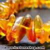 สร้อยข้อมือ อำพันบอลติก (Lemon) Genuine Baltic Amber (7g)