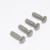 STEEL KING PIN FOR FRONT KNUCKLE - 4PCS