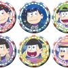 Osomatsu-san - Chara Badge Collection A 6Pack BOX(Pre-order)