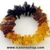 ▽สร้อยข้อมือ อำพันบอลติก (RAINBOW) Genuine Baltic Amber (22g)
