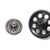 STEEL #45 SPUR GEAR 56T & DOUBLE SPEED REDUCTION GEARS- 2PC SET