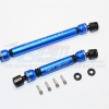 ALUMINIUM FRONT+REAR CENTER SHAFT WITH STEEL JOINT (S:100MM-107MM, L:135MM-142MM) - 1SET