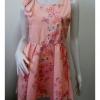 """Dress0715--เดรสแฟชั่น สีส้มโอรส สวยๆ """"อก 33-34 นิ้ว"""""""