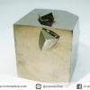 A+ เพชรหน้าทั่งซ้อน หรือไพไรต์ pyrite ทรงลูกบาศก์ (91g)
