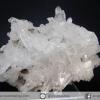 กลุ่มควอตซ์แท่งธรรมชาติ Quartz Cluster (325g) พร้อมฐานกระจก