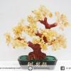 ต้นไม้มงคล ซิทริน (Citrine) (สูง 30 cm)