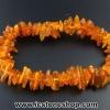 ▽สร้อยข้อมือ อำพันบอลติก (Honey) Genuine Baltic Amber (10g)