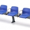 1/12 Scale Railway Accessory Series EK-10 New Station Bench (Blue)(Pre-order)