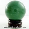 ▽กรีนอะเวนจูรีน (Green Aventurine) ทรงบอล หินทรงกลม 6.3 cm
