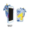 Digimon Adventure iPhone 6/6s Die-Cut Silicon Jacket (Gabumon)