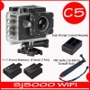 Sj5000 WiFi+ Battery + Dual Charger + TMC Selfie( 7 สี )