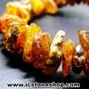 สร้อยข้อมือ อำพันบอลติก (Cognac) Genuine Baltic Amber (9g)