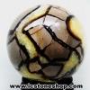 ▽หินมังกร - เซ็ปแทเรี่ยน Septarian (Dragon stone) หินทรงกลม (10 cm.,1.648Kg)