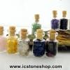 ชุดหินในขวด 9 ชนิด Clear Quartz, Amethyst, Rose Quartz, Citrine, Aventurine, Lapis Lazuli, Garnet, Tourmaline, Phantom Quartz