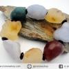 สร้อยข้อมือ อาเกตทะเลทรายโกบี (Gobi Agate) 102g