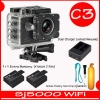 Sj5000 WiFi+ Battery + Dual Charger + Bobber( 7 สี )