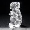 หินควอตซ์แกะเป็นรูปลิง ปีนักษัตร ปีวอก (19g)