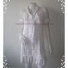 Dress0293--เดรสแฟชั่น นำเข้า สีขาว Fabulous อก 34 นิ้ว