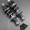 ALLOY FRONT/REAR ADJUSTABLE PLASTIC BALL TOP 53MM DAMPER - 1PR