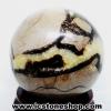 ▽เซ็ปแทเรี่ยน Septarian (Dragon stone) หินทรงกลม (8 cm.,716g)