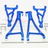 ALUMINIUM FRONT UPPER & LOWER SUSPENSION ARM - 4PCS SET (FOR E-REVO 560871, REVO, SUMMIT)
