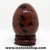 ▽มะฮอกกานี ออบซิเดียน (Mahogany Obsidian) ทรงไข่ (67g)