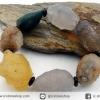สร้อยข้อมือ อาเกตทะเลทรายโกบี (Gobi Agate) 99g