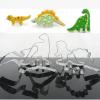 ชุดพิมพ์กดคุกกี้ รูปไดโนเสาร์ 4 แบบ