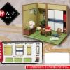 Petit Sample - THE Washitsu -Oshiire Closet Set-(Pre-order)