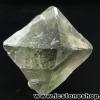 ▽หินฟลูออไรต์ (Fluorite) ธรรมชาติทรงพีระมิคคู่ (20g)