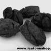 นิล Black pyroxene 5 ชิ้น (150g)