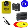 SJCAM M20 + (Battery + Dual Charger + Monopod Selfie)