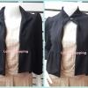เสื้อคลุม มือสอง สีดำ DIANE VAN FURSTENBERG อก 34 นิ้ว