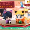 Petit Chara Land Maneki-Neko NARUTO Shippuden Maneki Kyubi Dattebayo! Set of 2 Mascot Figures(Pre-order)