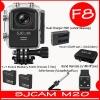 SJCAM M20 + Battery + Dual Charger +Remote Selfie + Band Remote +Bag(L)( 7 สี )