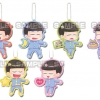 Osomatsu-san - Te-tsunagi Deformed Keychain vol.2 7Pack BOX(Pre-order)