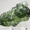 สะเก็ดดาวสีเขียว โมลดาไวท์ (Moldavite) 7.2ct.