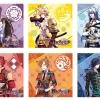es Series nino Trading Multipurpose Cloth - Sengoku Night Blood 6Pack BOX(Pre-order)