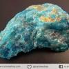 บลูอพาไทต์(Blue Apatite) ก้อนธรรมชาติ (39g)