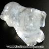 หินควอตซ์แกะเป็นรูปหมา ปีนักษัตร ปีจอ (11g)