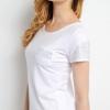 เสื้อยืด แขนสั้น สีขาว Size XL สไตล์เด็กแนว