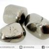 ไพไรต์ขัดมันขนาดพกพา 3 ชิ้น Pyrite (37g)