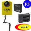 SJCAM M20 + (Battery + Dual Charger + 3 Way)