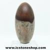 ศิวลิงค์คัม หรือหินพระศิวะ หินศักดิ์สิทธิ์จากอินเดีย พร้อมฐาน (27g)