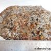 คาลซิโดนี-Chalcedony หินก้อนธรรมชาติ ตั้งโต๊ะ (3.8Kg)