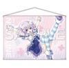 Hyperdimension Neptunia - B2 W Suede Wall Scroll: Kyou mo Genki ni NepuNepu! Ver.(Pre-order)