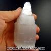 ▽เซเลไนต์ Selenite ธรรมชาติทรงเจดีย์ (10cm.-251g)